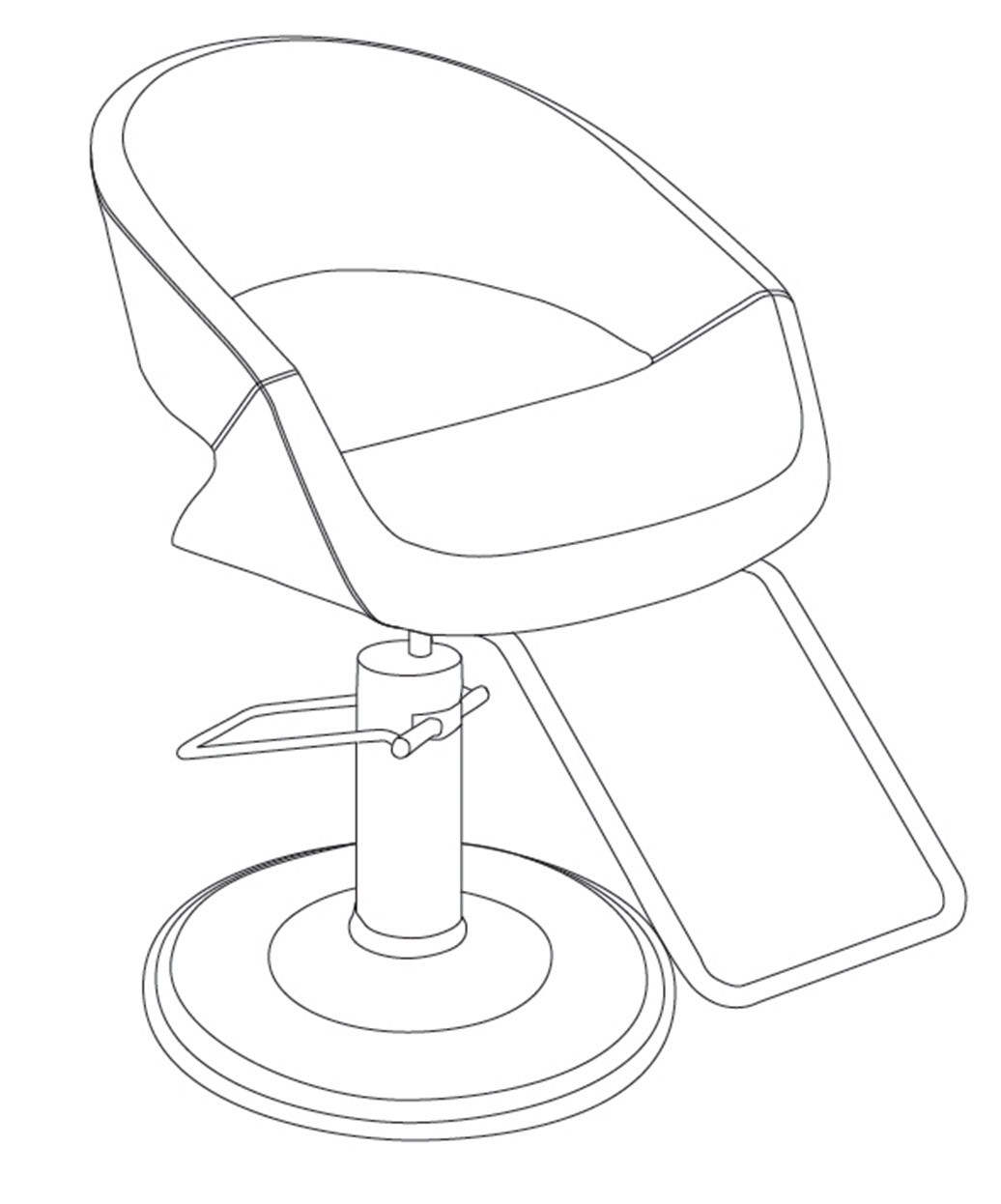 Takara Belmont ST-M80 Caruso Styling Chair
