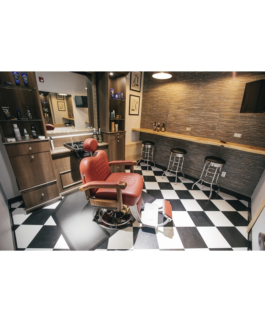 Collins B20 Cavalier Barber Chair