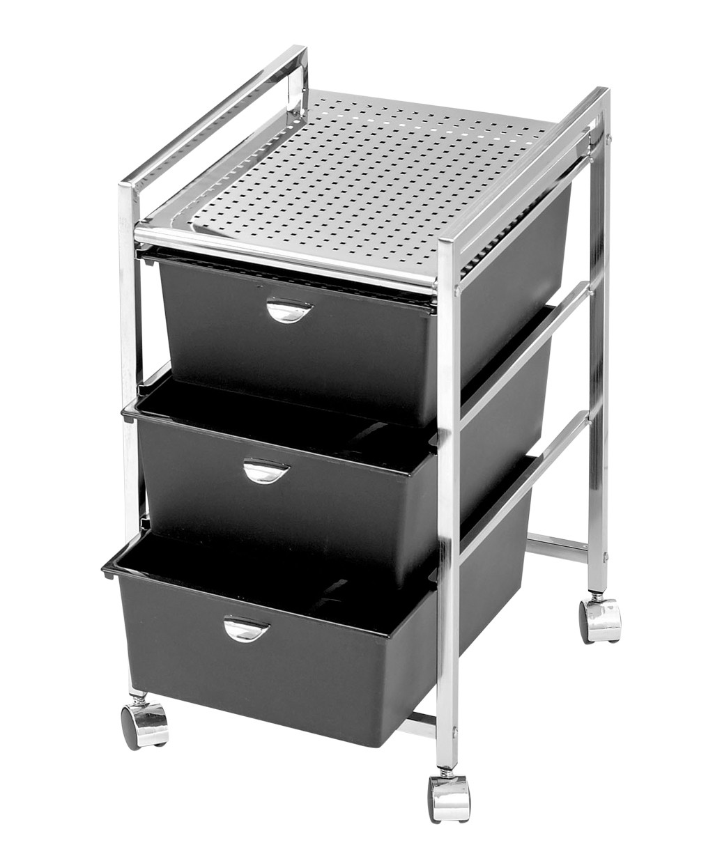 Pibbs D23 Pedicure Metal Roller Cart