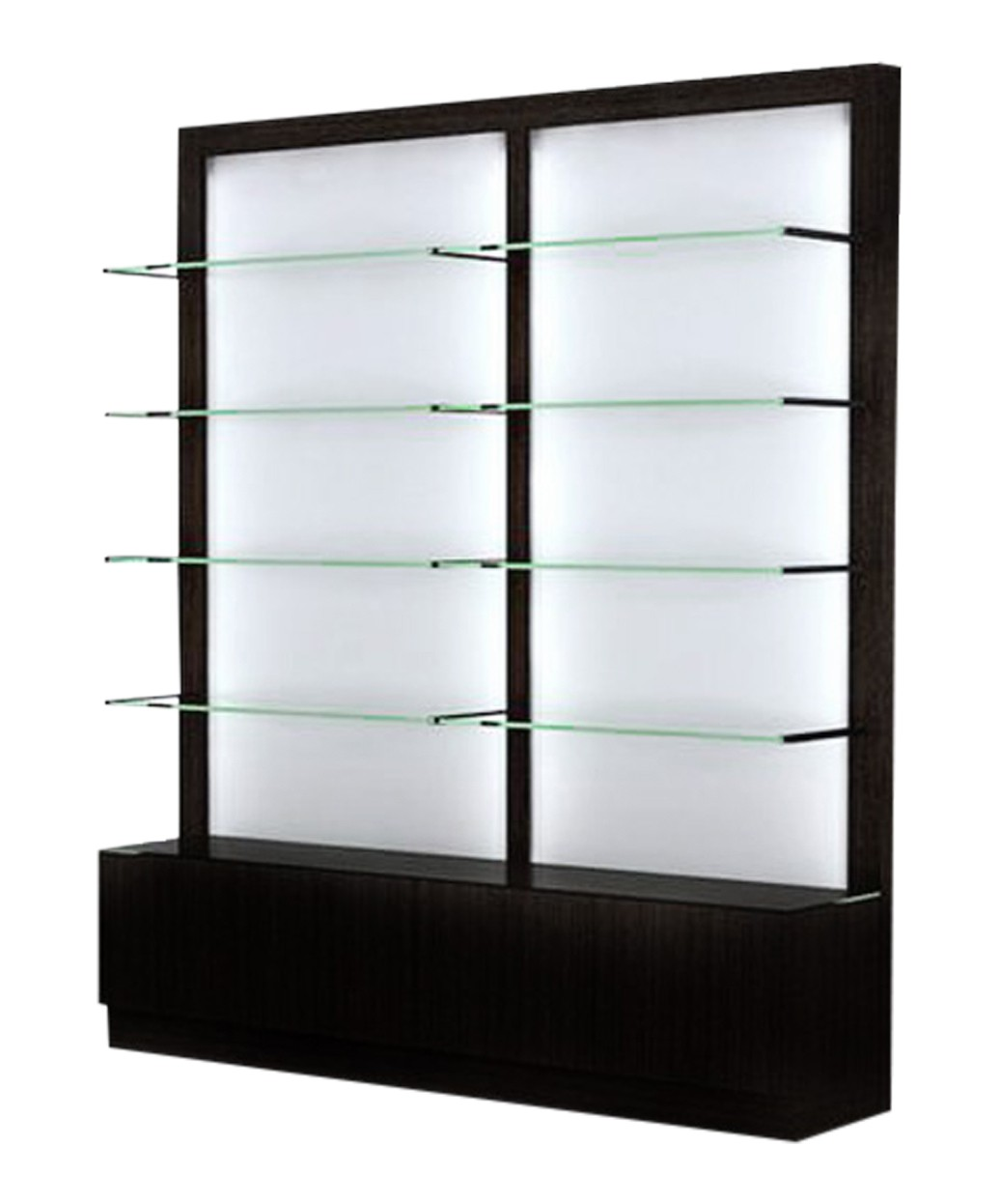 Collins 6650 Zada Backlit Retail Display w/ LED Lights