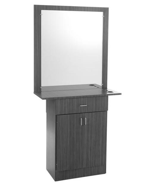 4 Operator Icon & Miami w/ Mirror Salon Package Miami Styling Station With Mirror