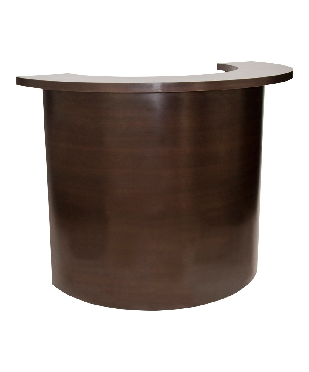 circular salon reception desk from buy rite beauty