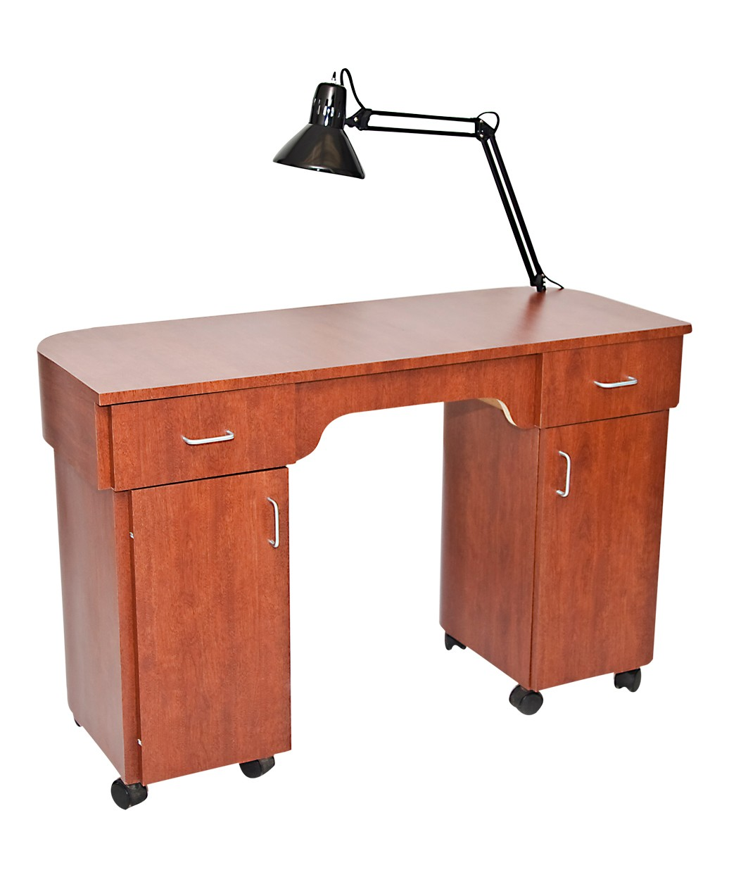 New York Manicure Table With Lamp