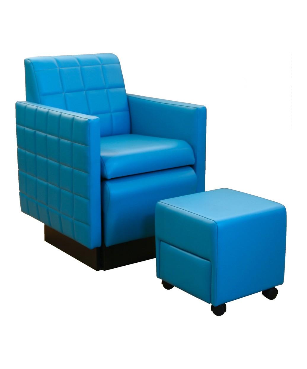 Collins 2560 Nouveau Club Pedicure Chair W Footsie Bath