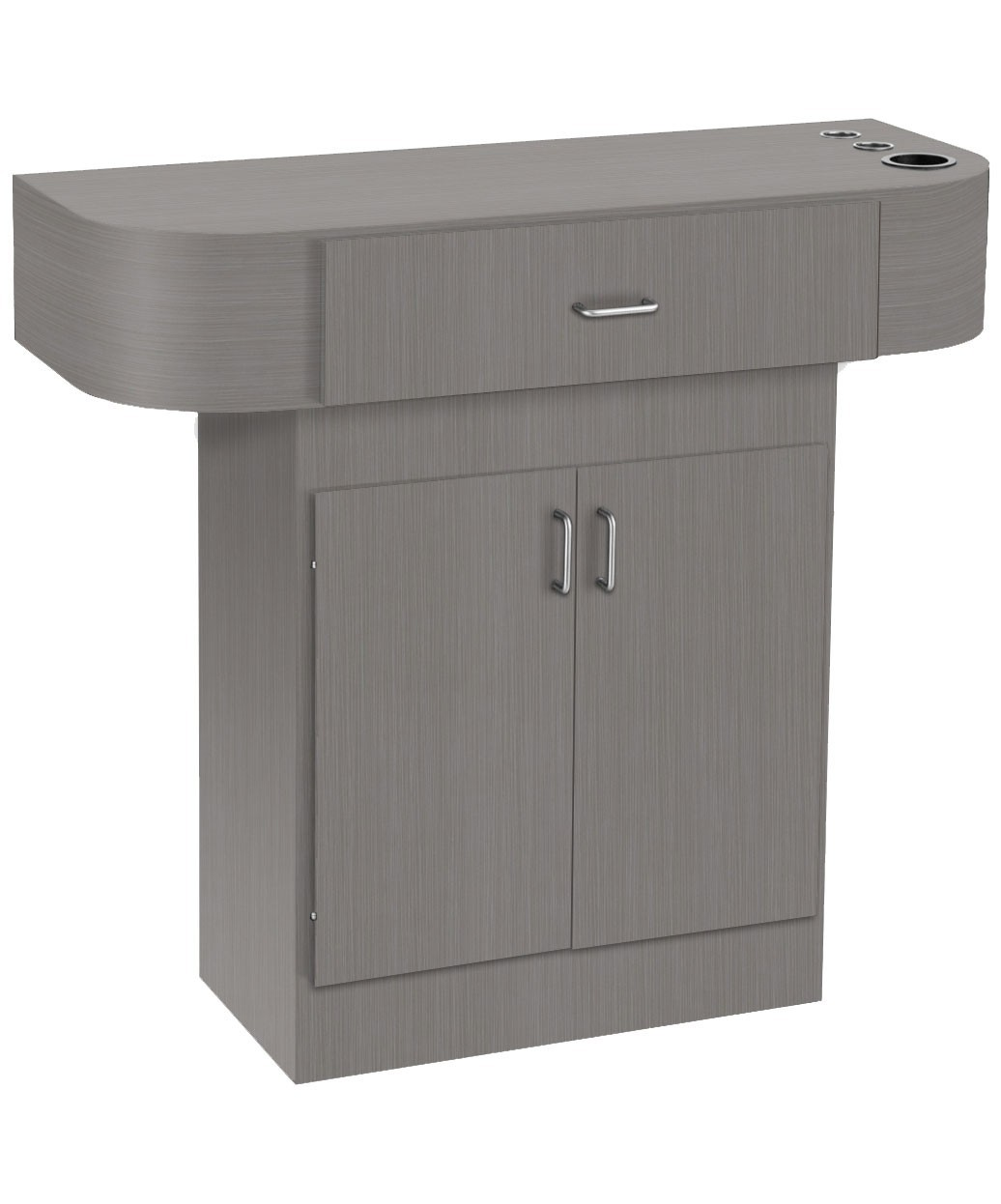 3 Operator Pibbs 5406 Loop Package Jazz Styling Station With Storage