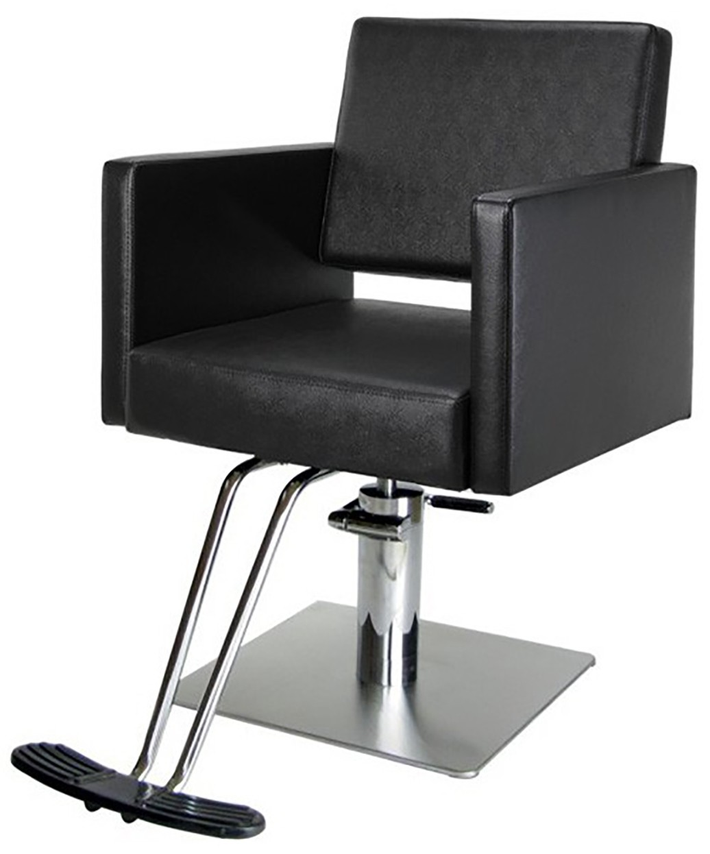 aria modern salon styling chair on square base buy rite