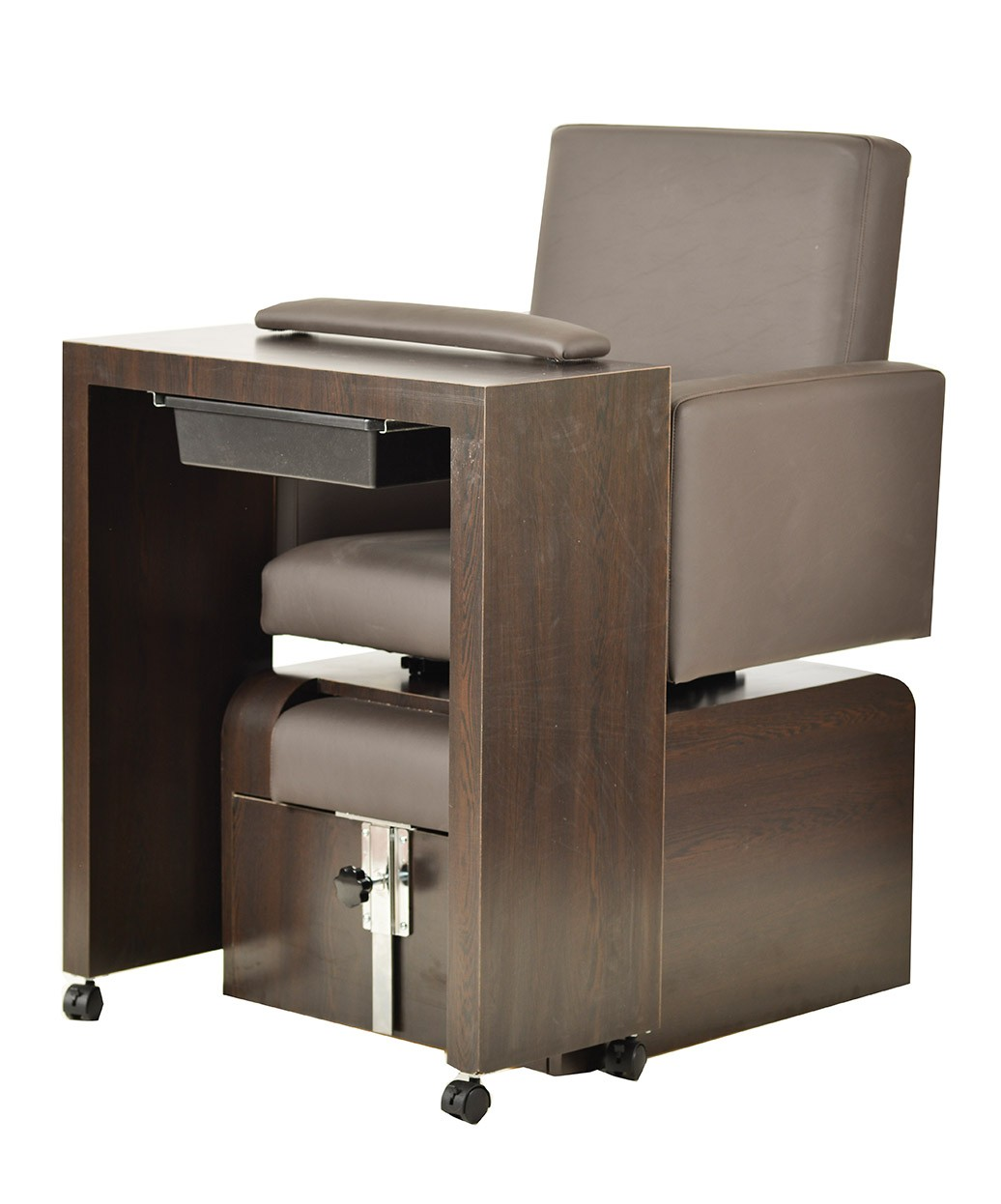 Pibbs nc01 san remo manicure table for Nail table and chairs