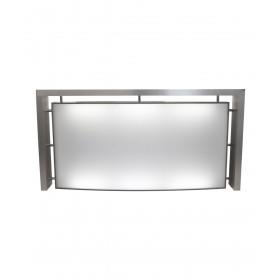 Collins 110660 SO Reception Desk w/ Back-Lit Panel