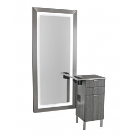 Collins 6642 Zada Styling Vanity & Mirror w/ LED Lights