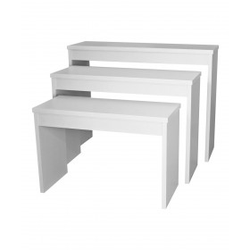 Collins 6648 Zada Set of 3 Nesting Retail Tables