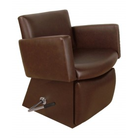 Collins 6950L Cigno Shampoo Chair with Kick Out Leg Rest