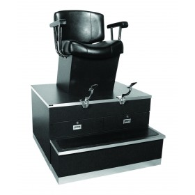Collins 9040 Continental Shoe Shine Stand