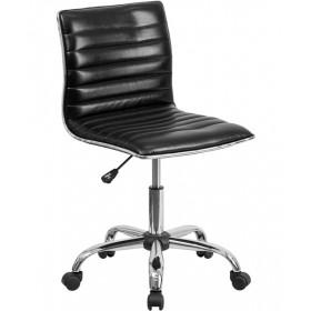 Mid-Back Ribbed Designer Task Chair