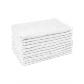 12 Pack White Towels