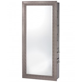 Pibbs Diamond Salon Mirror & Storage Server