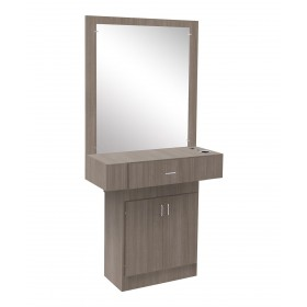Econo Styling Station With Mirror