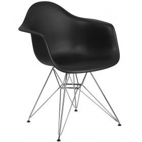 Ritz Reception Chair w/ Chrome Base