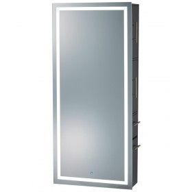 Pibbs Lumina LED Salon Mirror & Storage Server