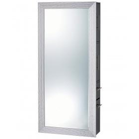 Pibbs Wave Salon Mirror & Storage Server