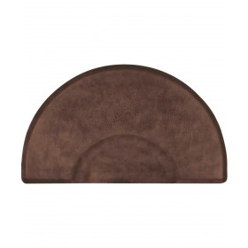 "3' X 5' Circular Smart Step Vintage Leather Salon Mat 3/4"""