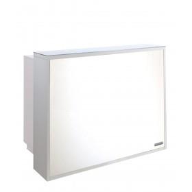 Salon Ambience RD012 Venus Italian Reception Desk w/ LED Light