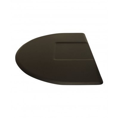 3.5' X 5' IC Urethane Extra Soft Circular Mat w/ Square Cut-Out 5/8""