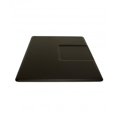 3.5' X 5' IC Urethane Extra Soft Rectangle Mat w/ Square Cut-Out 5/8""