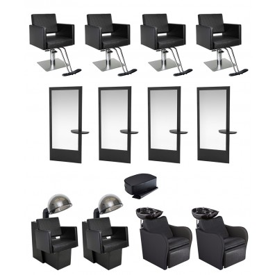 4 Operator Allegro Gold Salon Package