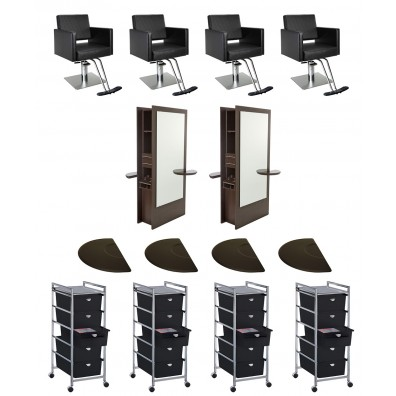 4 Operator Nobu Double Sided Salon Package