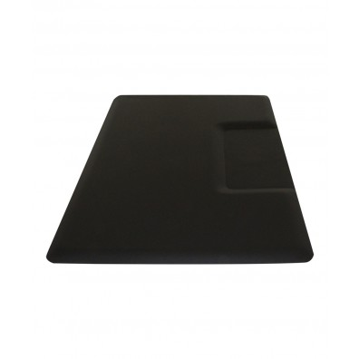 3' X 4.5' IC Urethane Extra Soft Rectangle Mat w/ Square Cut-Out 3/4""