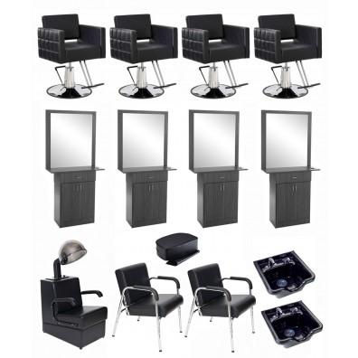 4 Operator Icon & Miami w/ Mirror Salon Package