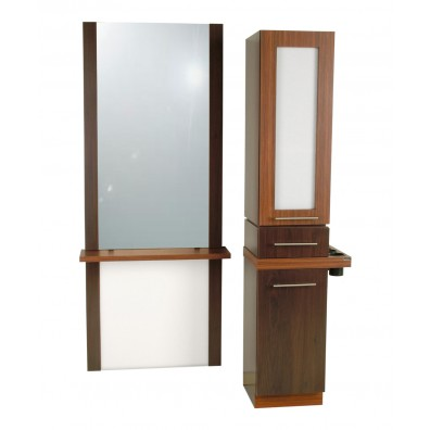 Collins 627 Alta A-Tall Styling Station w/ Mirror