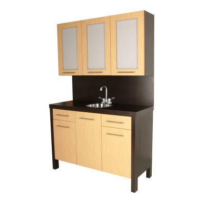 Collins 639-54 Alta Color Center w/ Stainless Steel Sink