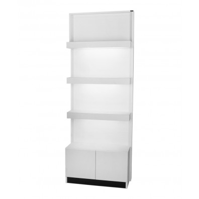 Collins 6649 Zada Retail Display w/ Light & Storage