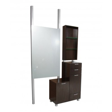 Collins 938 Amati Bi-Level Styling Vanity w/ Retail