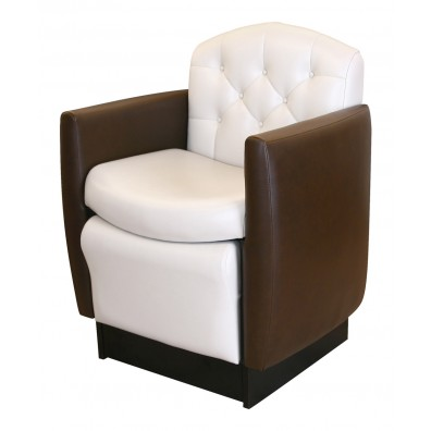 Collins 2565 Ashton Club Pedicure Chair w/ Footsie Bath