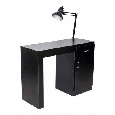 Savannah Manicure Table With Lamp