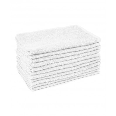 12 Pack White Towels from Buy-Rite Beauty
