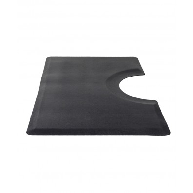 3' X 5' Rhino Comfort Craft Classic Anti-Fatigue Mat w/ Round Cut-Out