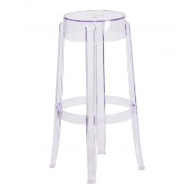 Top Hat Tall Transparent Barstool