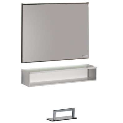 Salon Ambience Horizon Mirror Styling Station w/ Storage