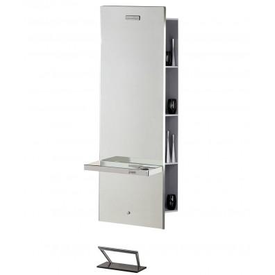 Salon Ambience Lunar Mirror Styling Station w/ Storage