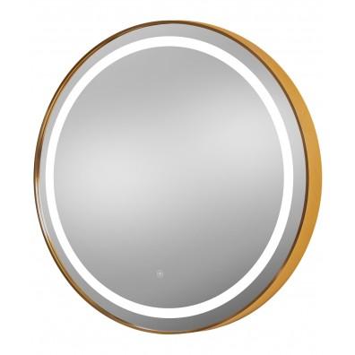 """Pibbs 9880 Sola Gold 36"""" Round LED Salon Mirror"""