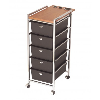 Pibbs D29 Wood Top Utility Cart