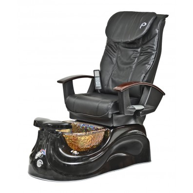 Pibbs PS65 San Marino Pipeless Pedicure Spa w/ Glass Bowl & Shiatsu