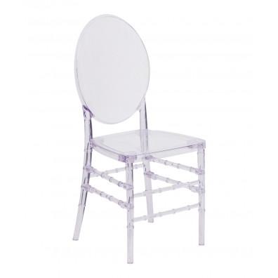 Elegance Crystal Ice Reception Chair