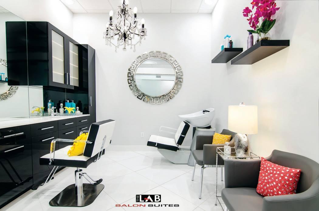 Studio salon floor plan
