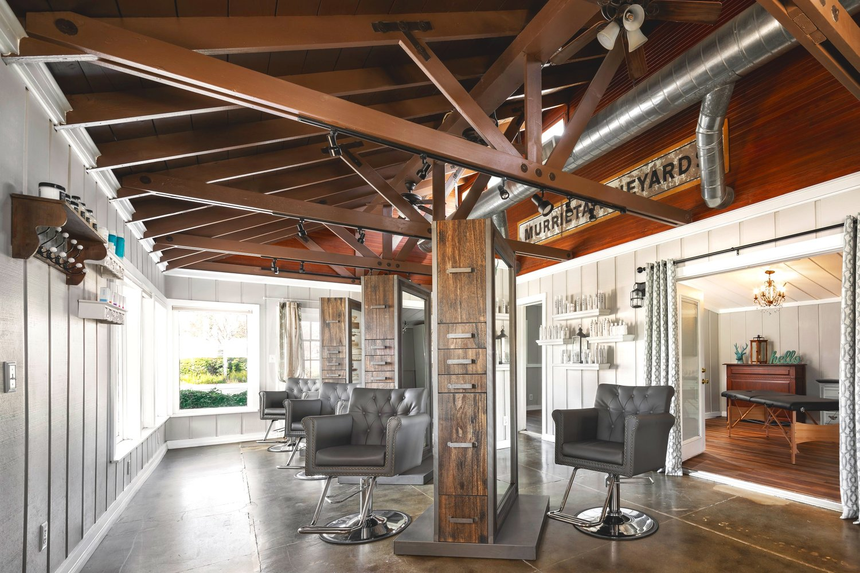 Stations at the Beauty Artisan salon